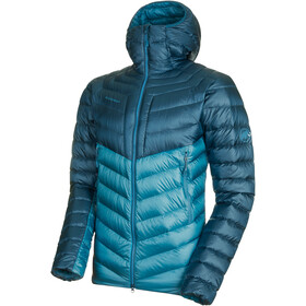 Mammut Broad Peak IN Hooded Jacket Herren sapphire-wing teal